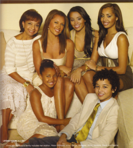 vanessa williams and kids